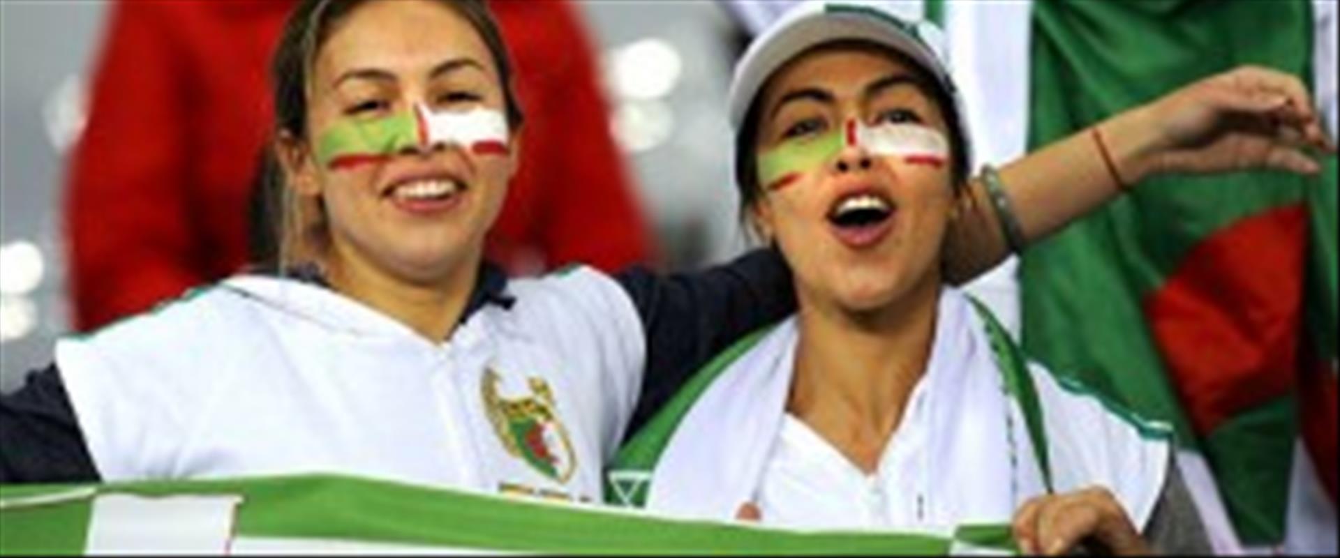 אוהדות של נבחרת אלג'יריה