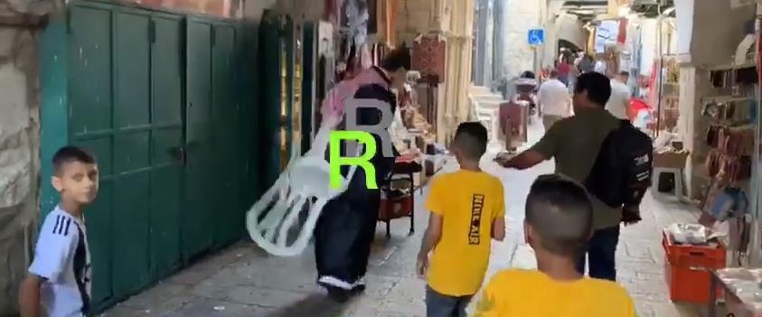 פעיל הרשת הסעודי מוחמד סעוד מותקף בעיר העתיקה