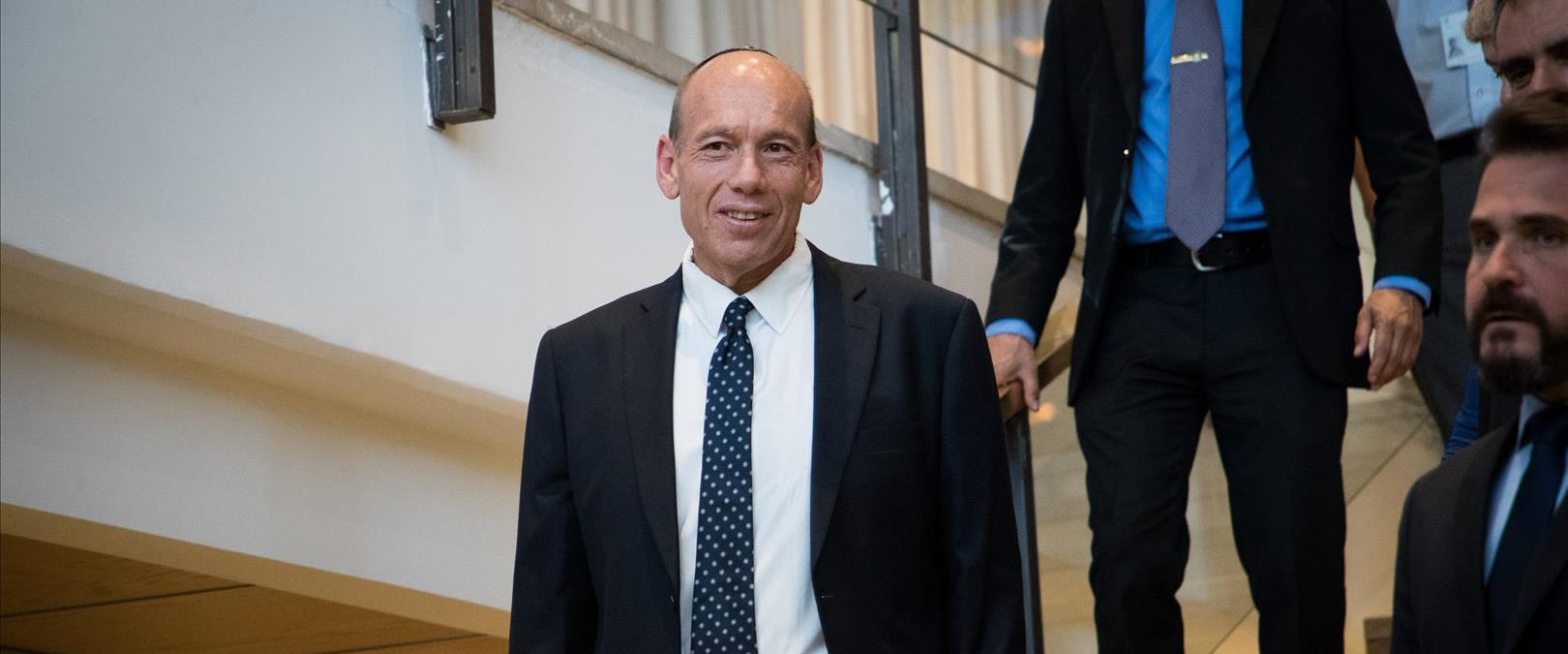 מבקר המדינה מתניהו אנגלמן בכנסת, יוני 2019