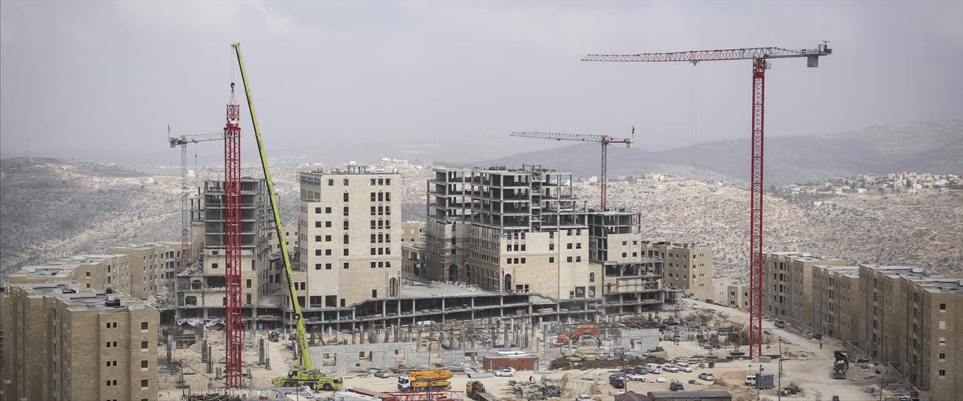 בנייה ביהודה ושומרון, אילוסטרציה