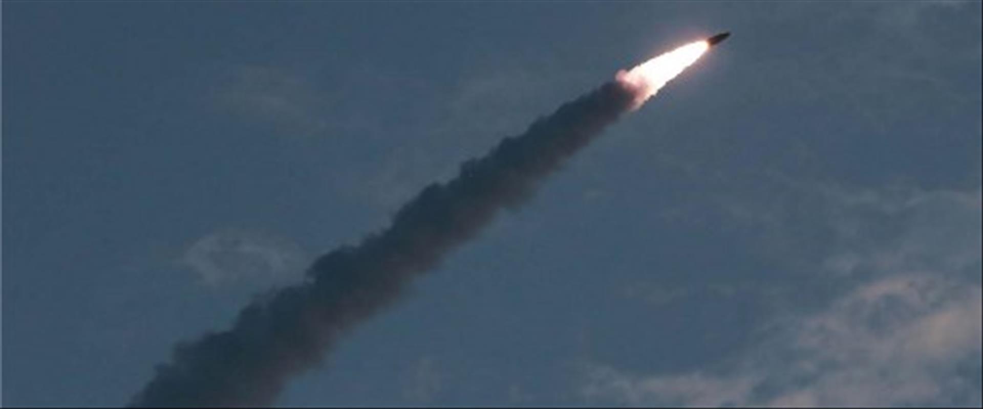 ניסוי טילים של קוריאה הצפונית מהחודש האחרון