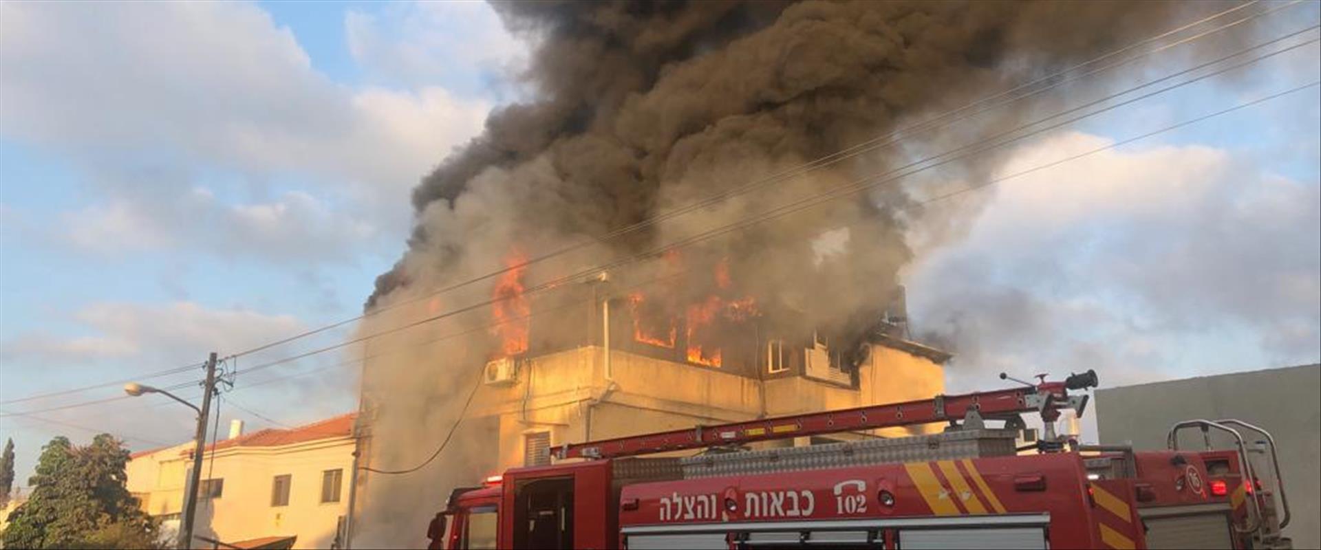 השריפה בביתה של כרמל מעודה