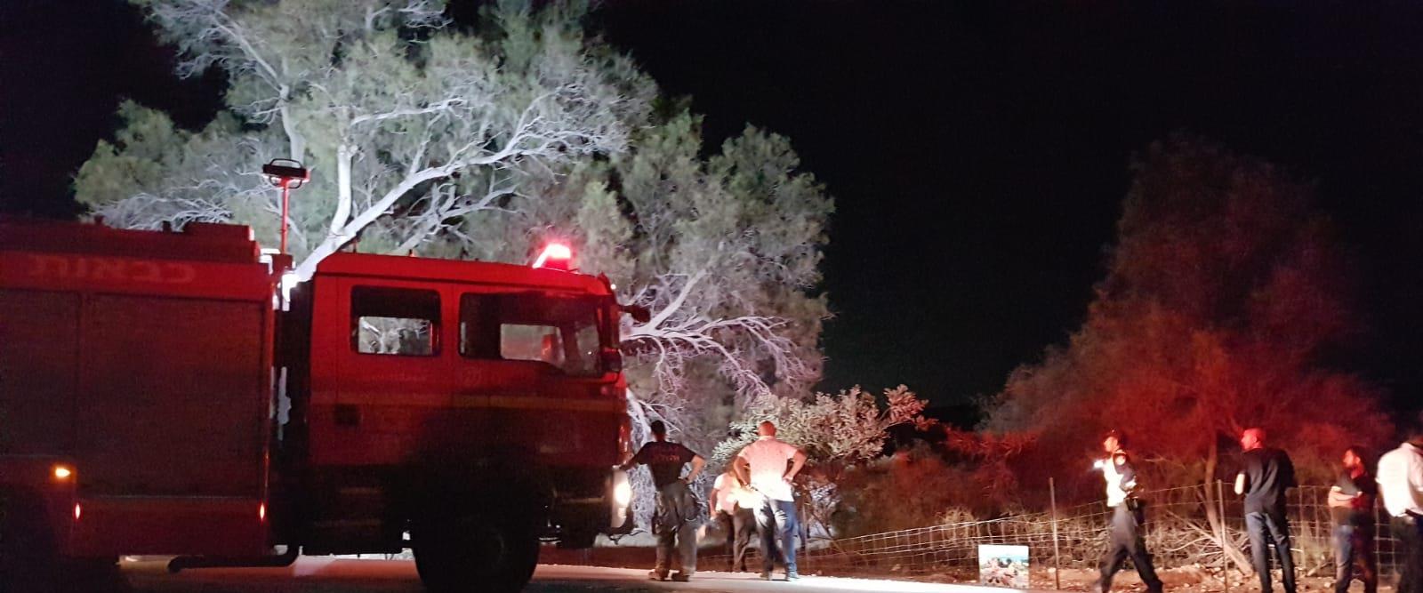 זירת התאונה בבית קמה