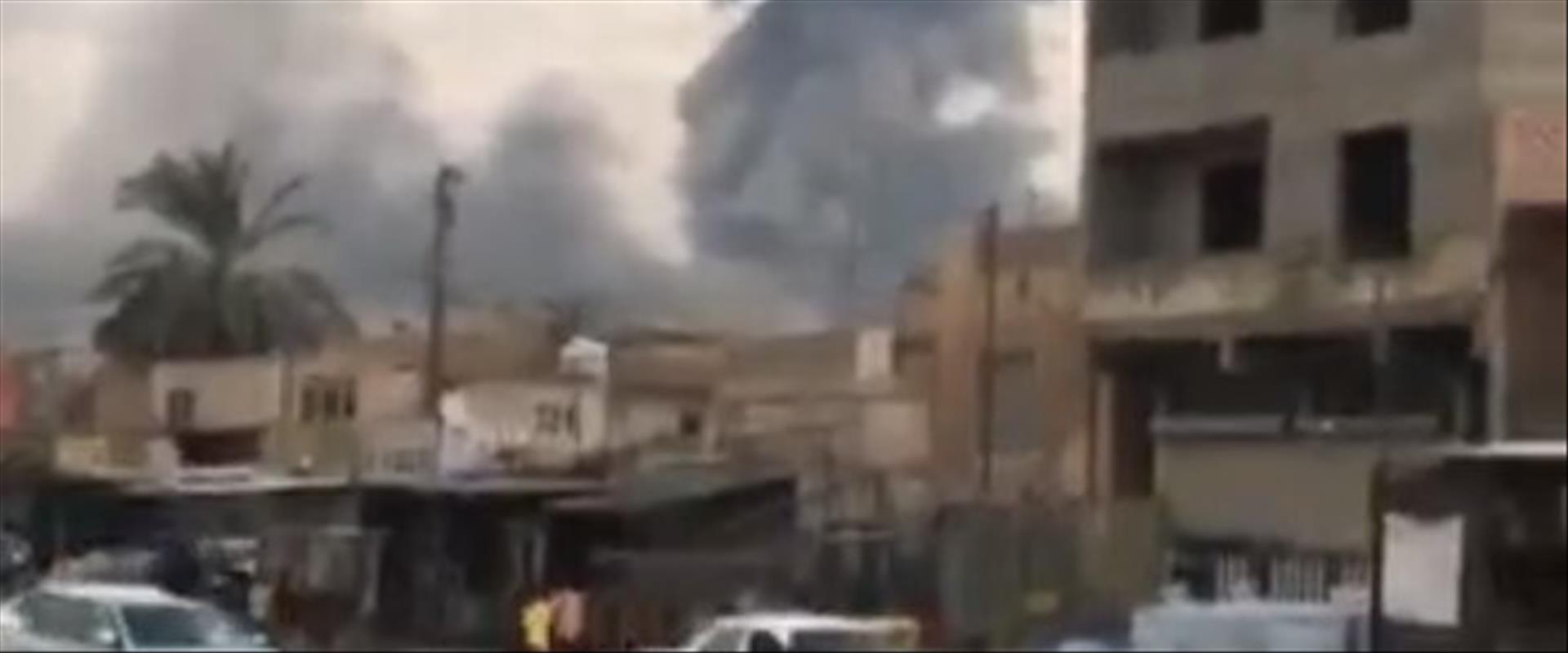 הפיצוץ במחסן הנשק בעיראק