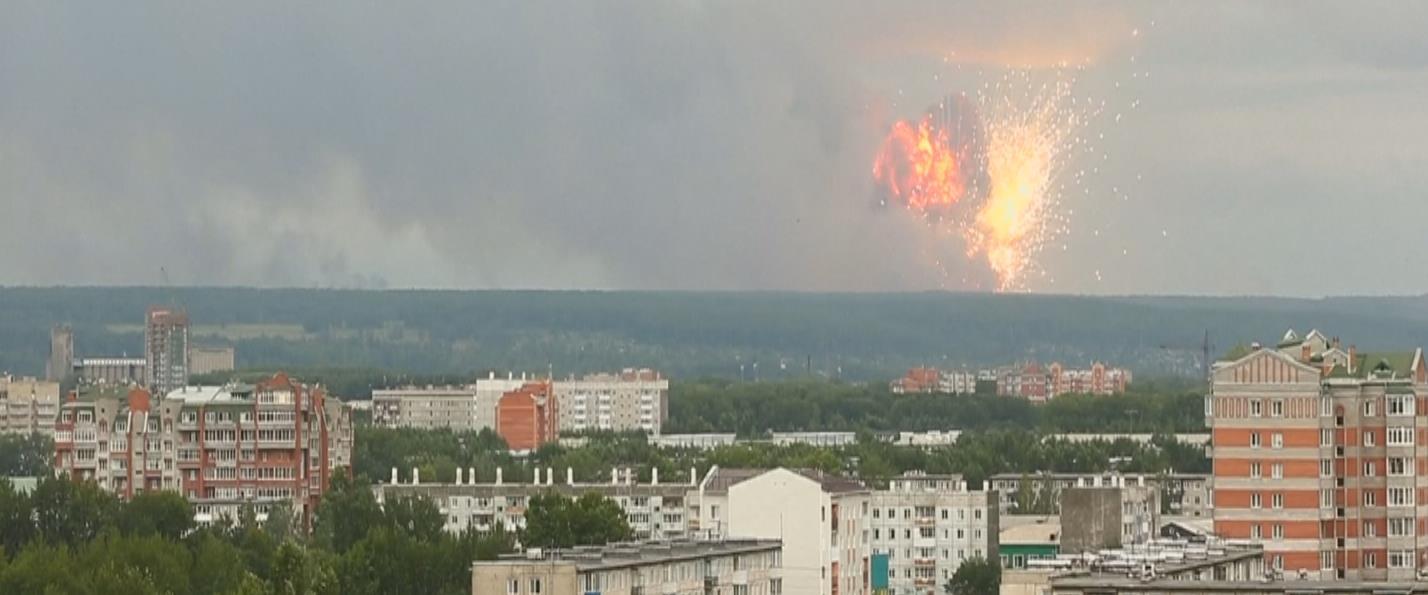 הפיצוץ ברוסיה, בשבוע שעבר