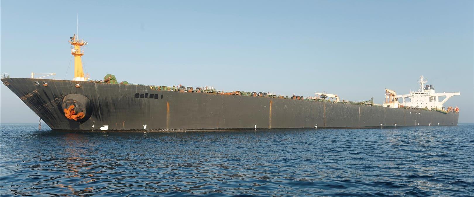 """מכלית הנפט האיראנית """"גרייס 1"""", בראשית השבוע"""