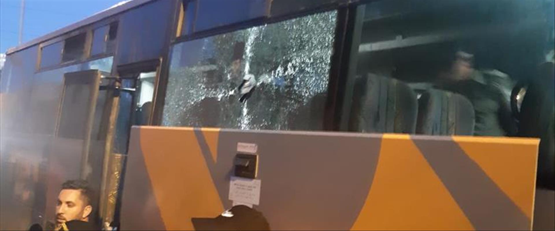 האוטובוס שהותקף