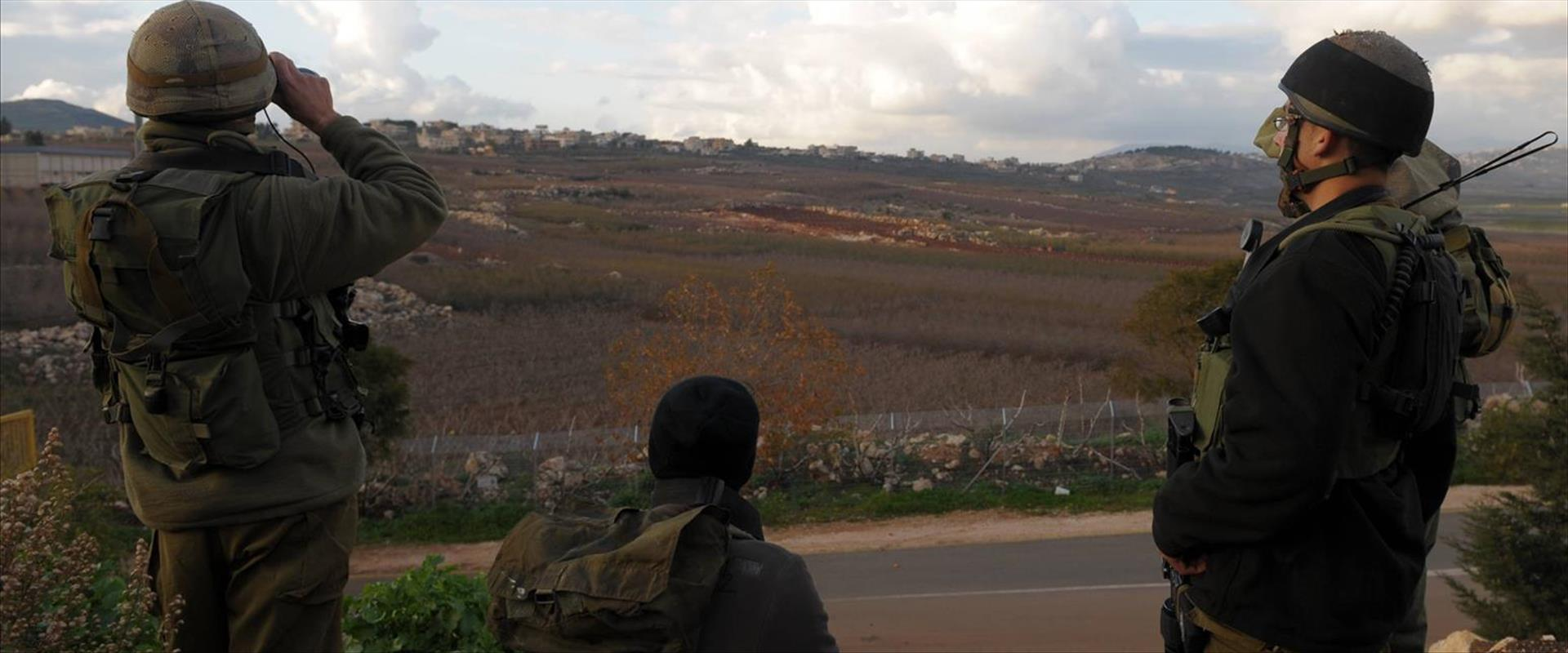 """צה""""ל בגבול לבנון"""