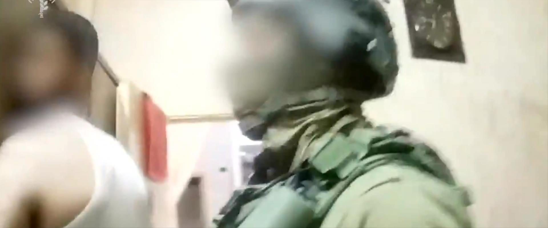 מעצר המחבל תאמר ראג'ח רג'בי בחברון