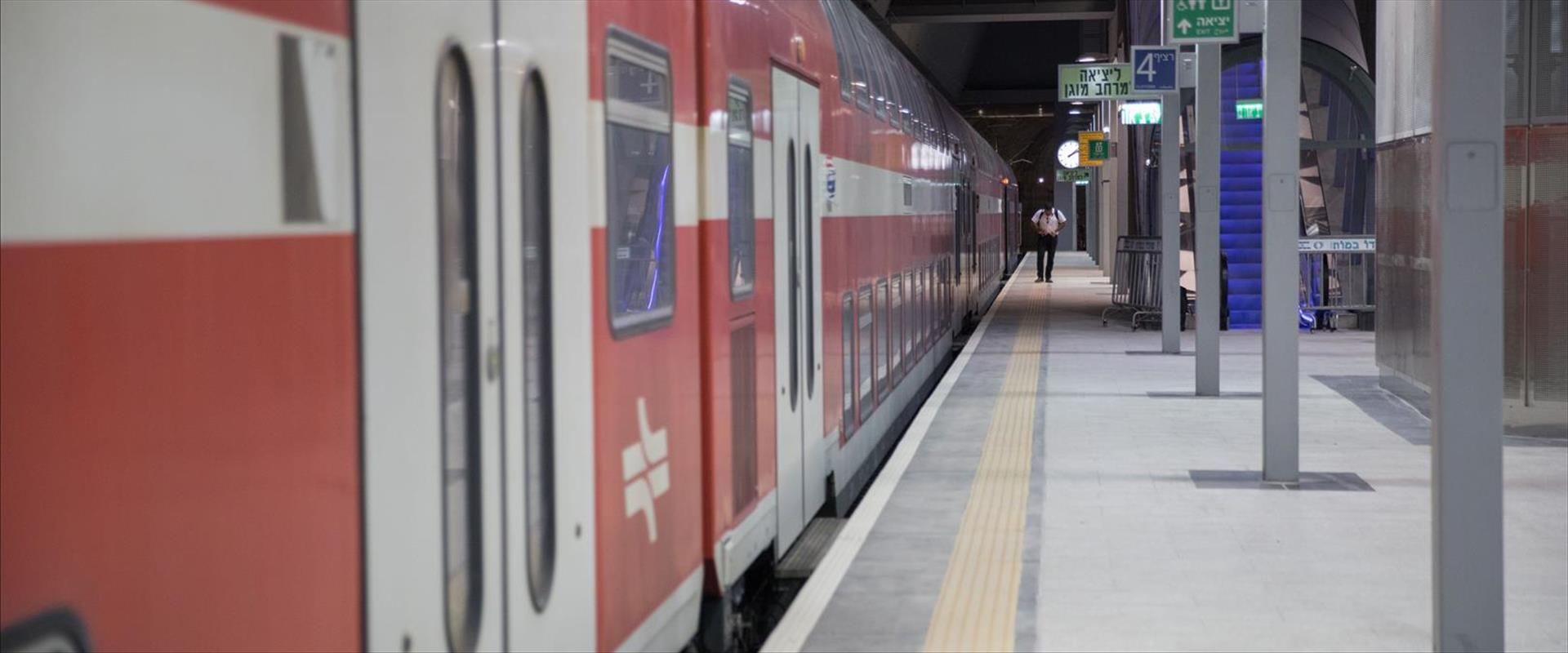 רכבת בתחנת ירושלים