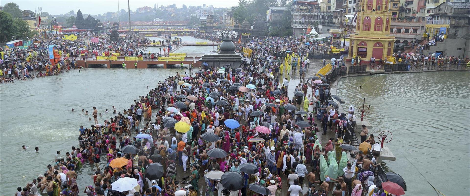 נהר גודווארי, דרום הודו