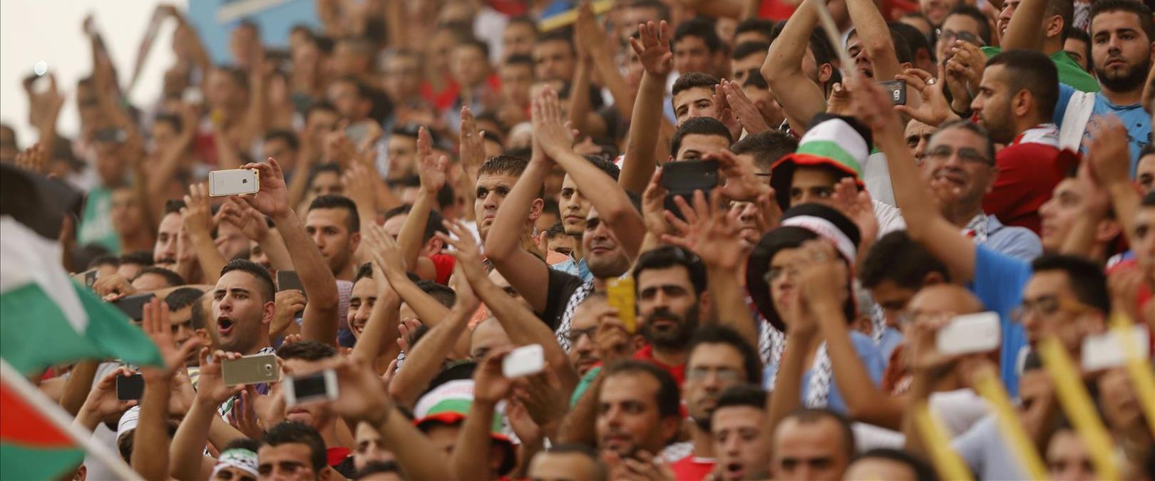 משחק כדורגל של נבחרת פלסטין, ארכיון