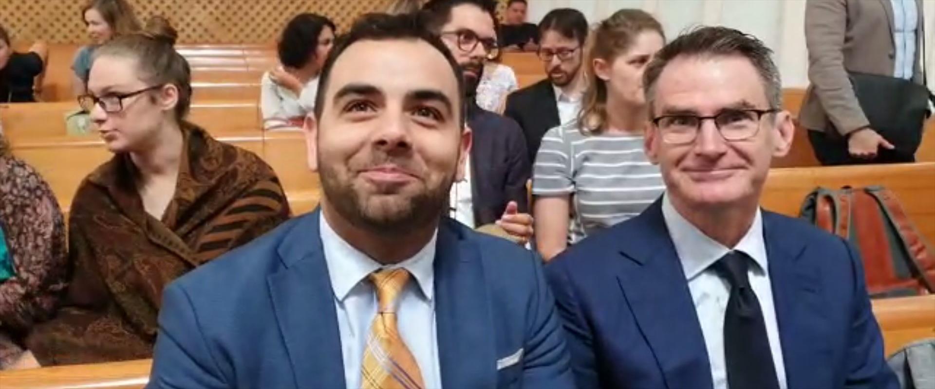 עומר שאקיר בבית המשפט העליון, היום