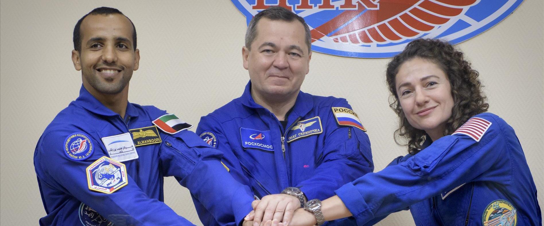 האסטרונאוטים ששוגרו לחלל
