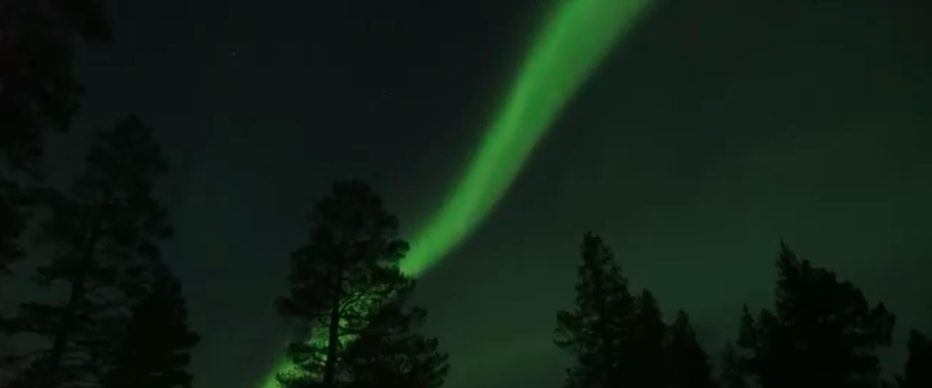 הירוק בשמיים הנורדיים