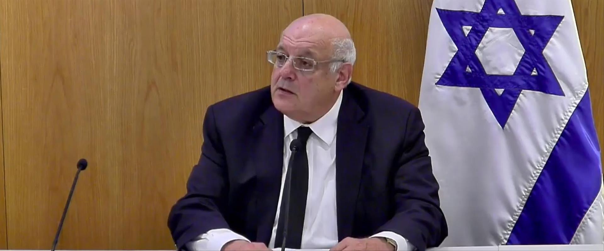 """יו""""ר ועדת הבחירות המרכזית השופט חנן מלצר"""
