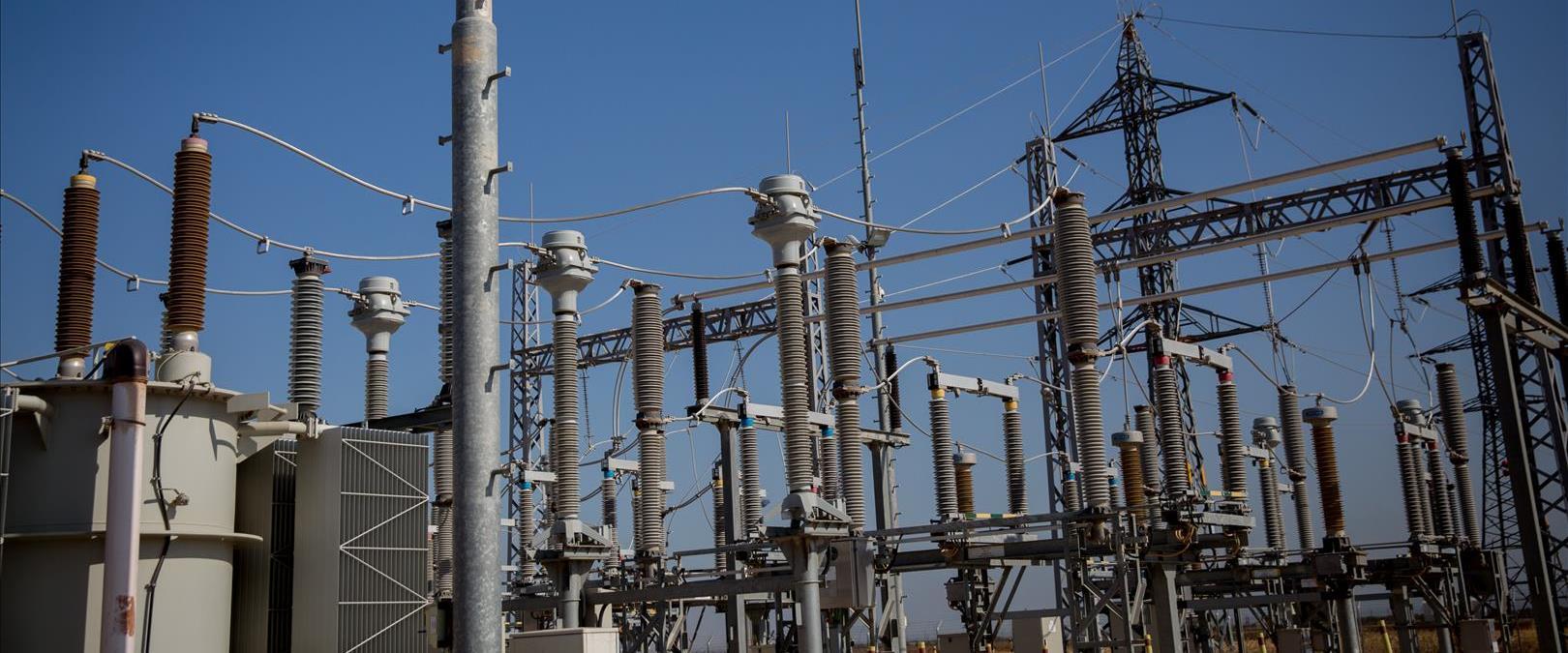 תחנת חשמל פלסטינית