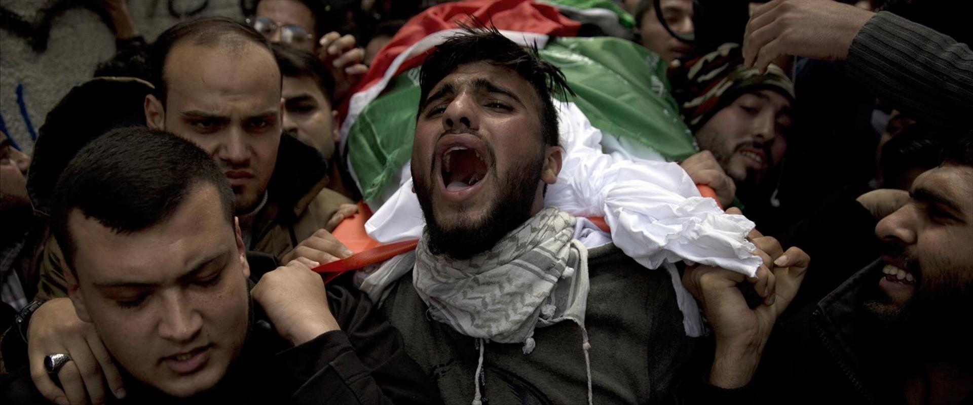 הלוויית נער פלסטיני בעזה, 03.09.19