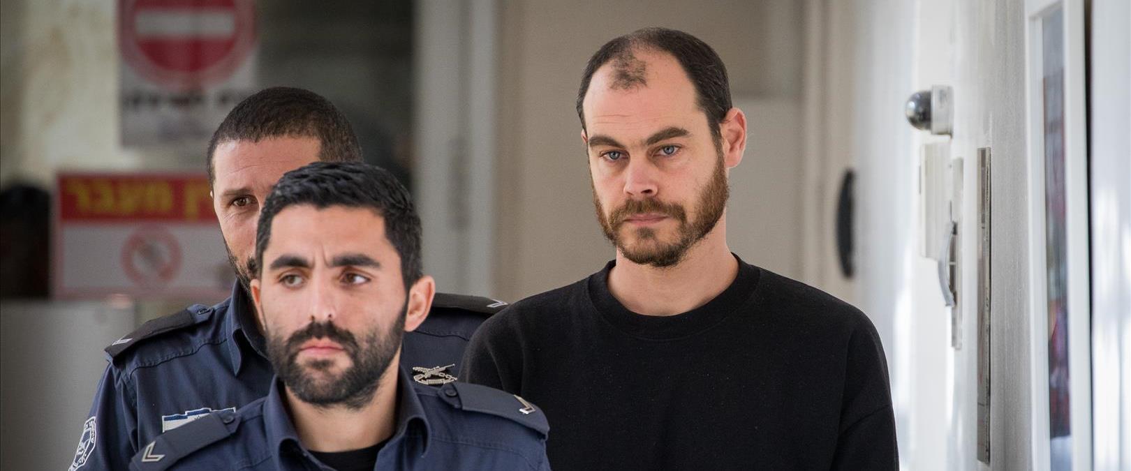 יונתן פולק במעצר