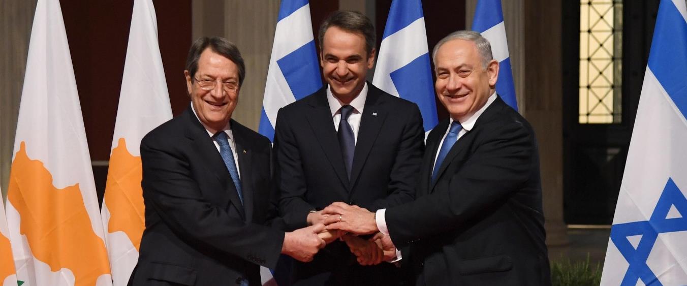 ראש הממשלה נתניהו, ממשלת יוון מיצוטקיס ונשיא קפריס