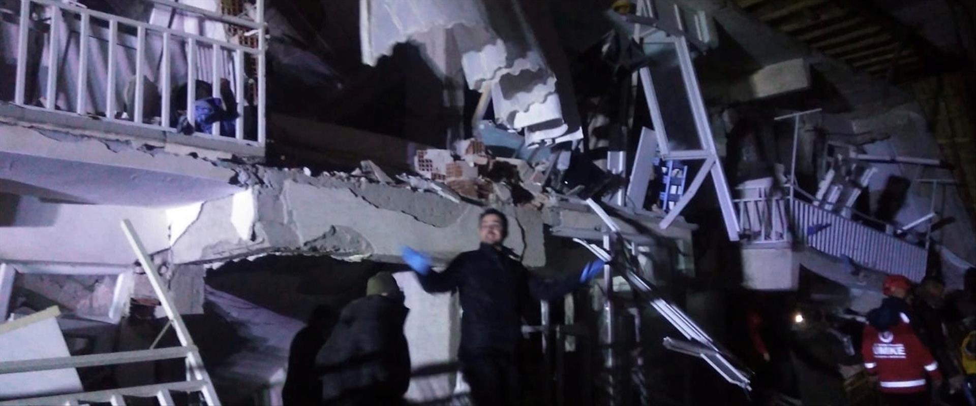 נזקי רעידת האדמה בטורקיה