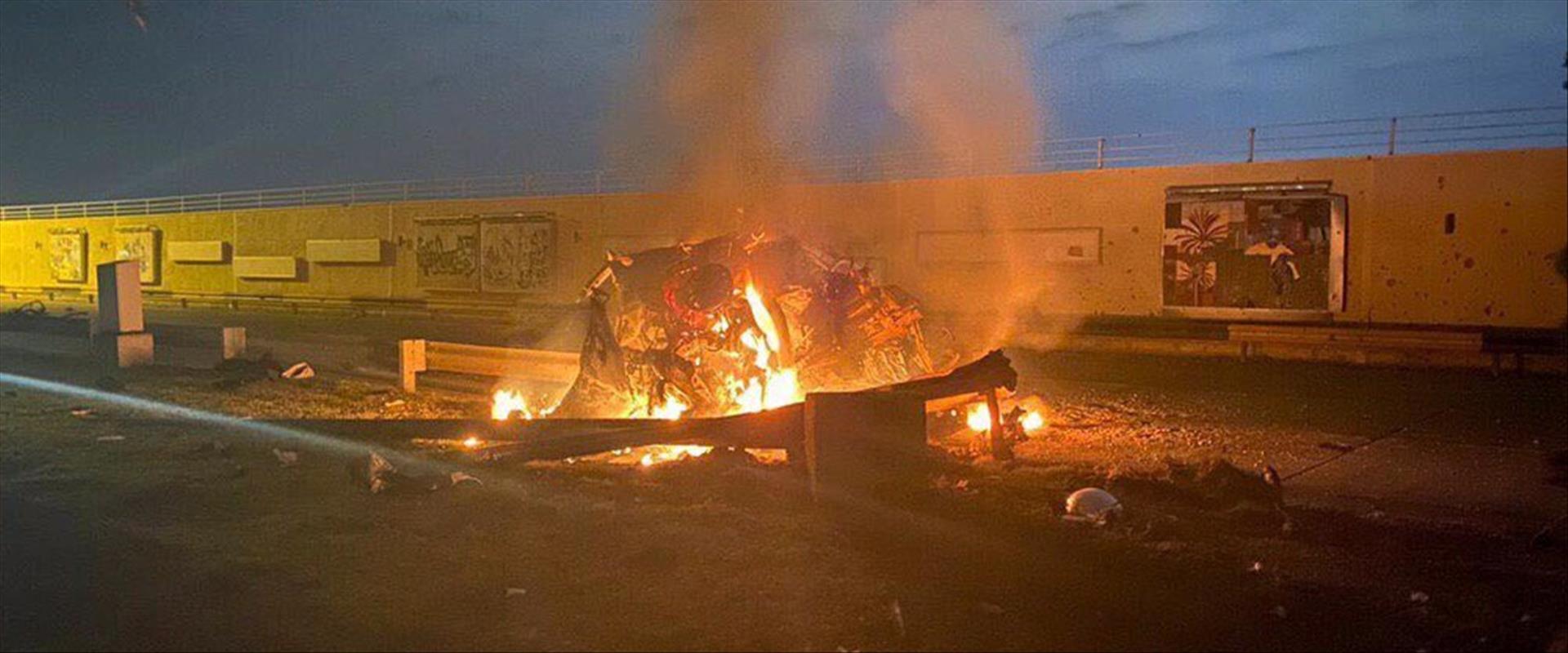 ירי הרקטות בבגדאד