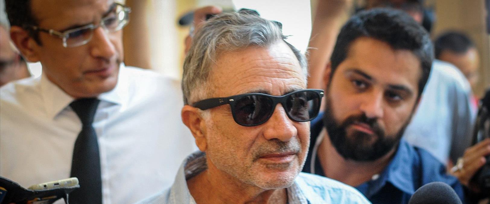 משה איבגי בבית המשפט בחיפה