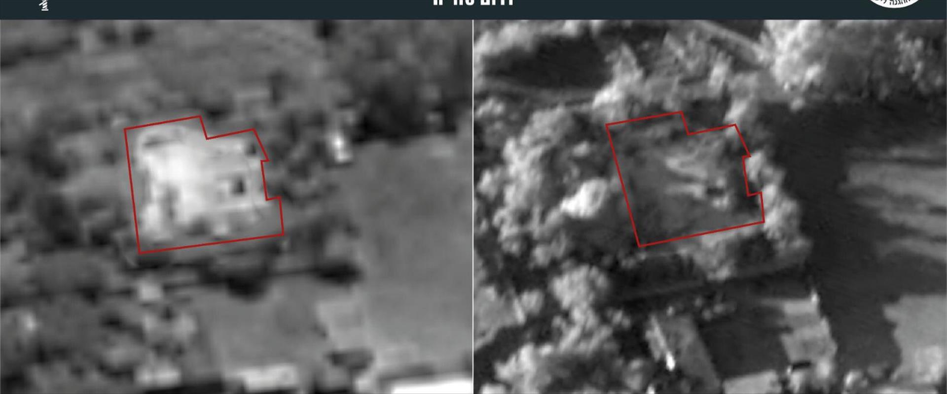"""מפקדת דביזיה 7 של צבא סוריה שנפגעה בתקיפת צה""""ל"""