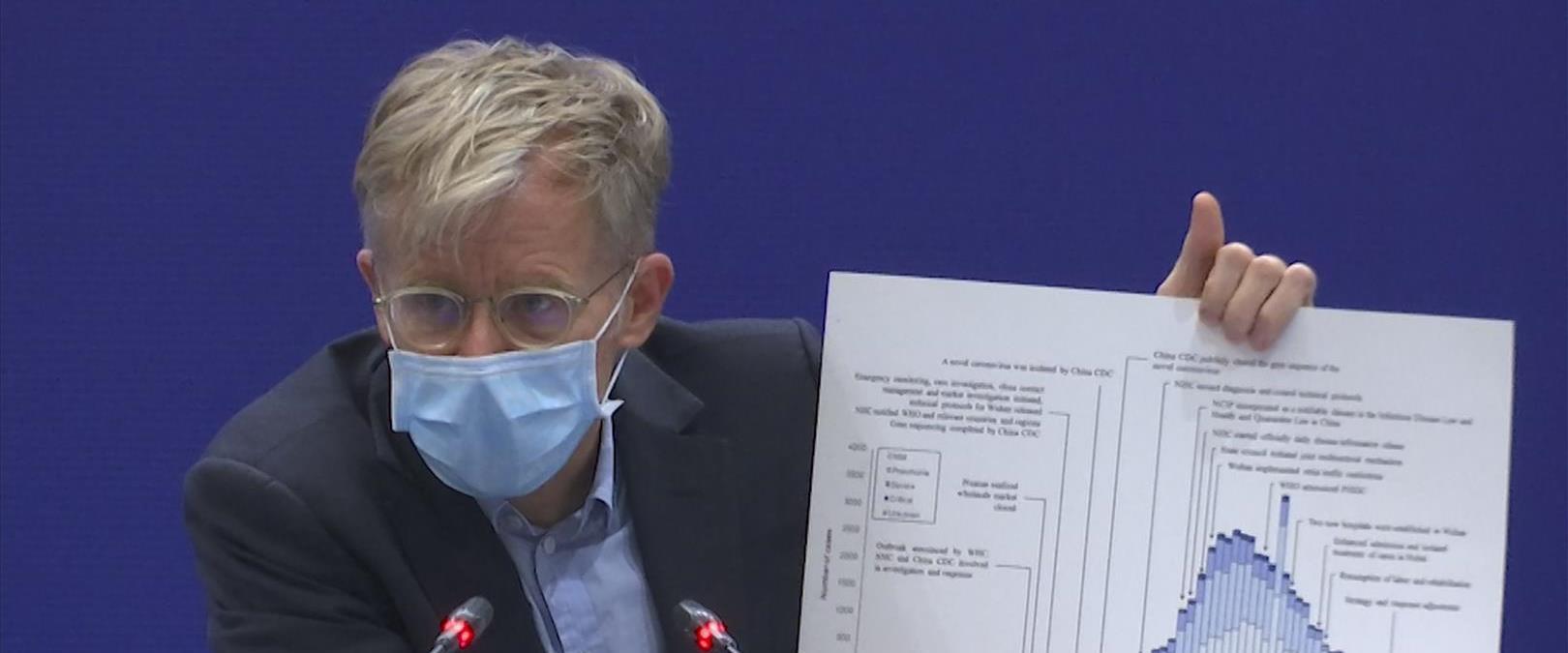 """ד""""ר ברוס איילווארד, המשנה ליו""""ר ארגון הבריאות העול"""