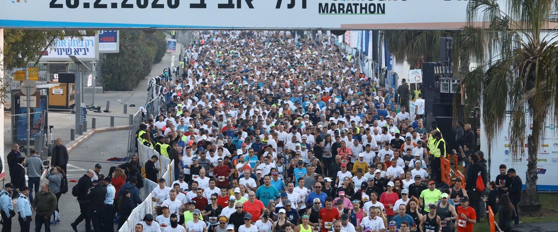מרתון תל אביב יצא לדרך