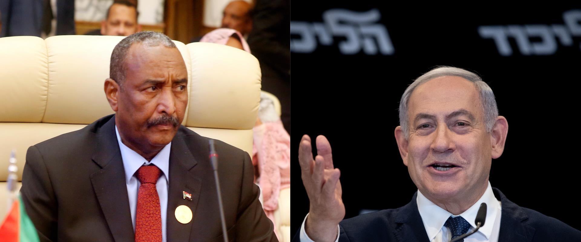 נתניהו ונשיא סודן