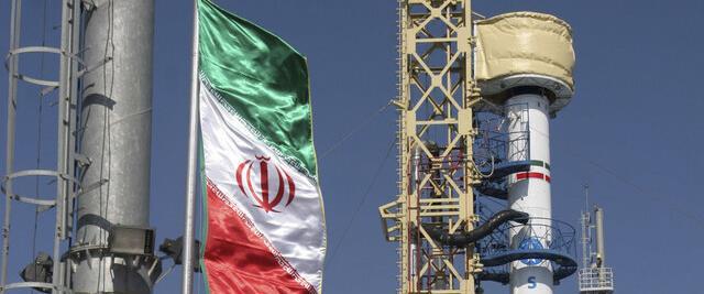 הלוויין האיראני ששוגר