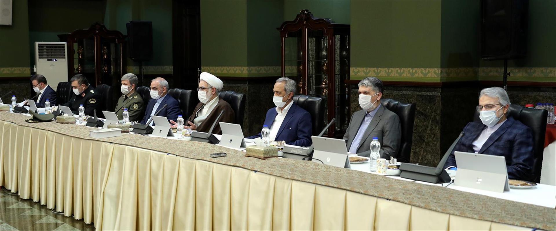 ישיבת הממשלה בטהראן, הבוקר