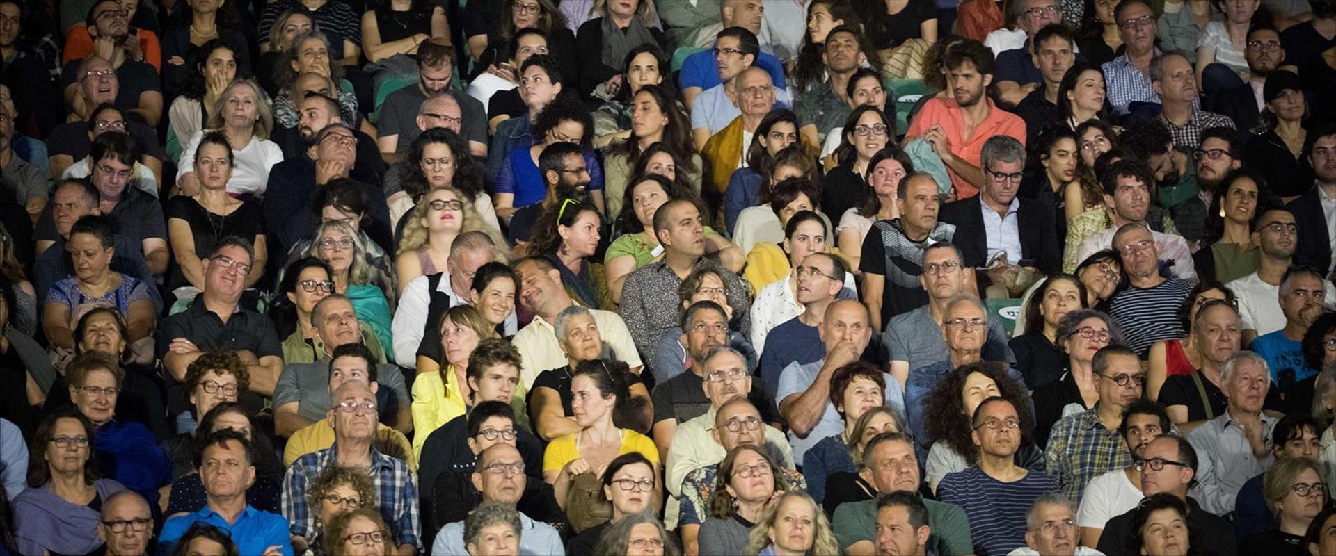 קהל בפסטיבל קולנוע, ארכיון