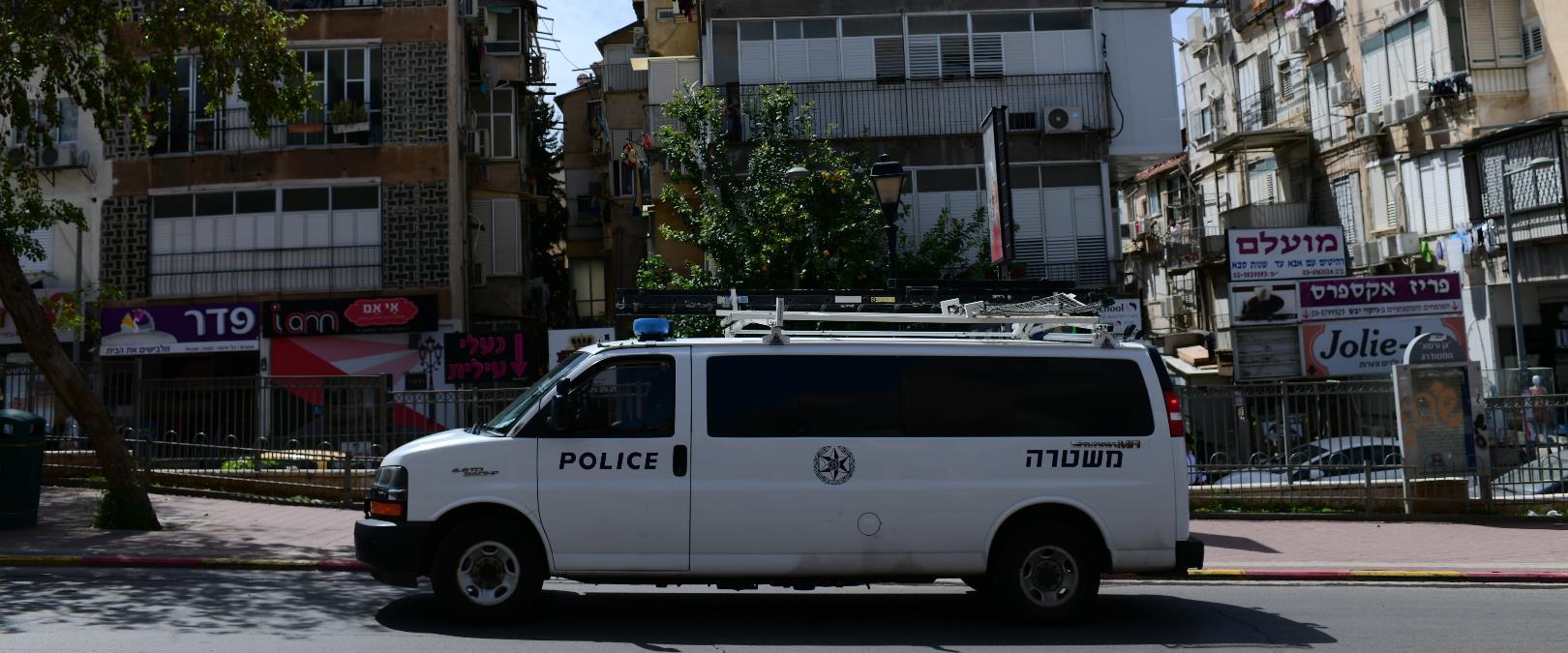 ניידת משטרה בבני ברק