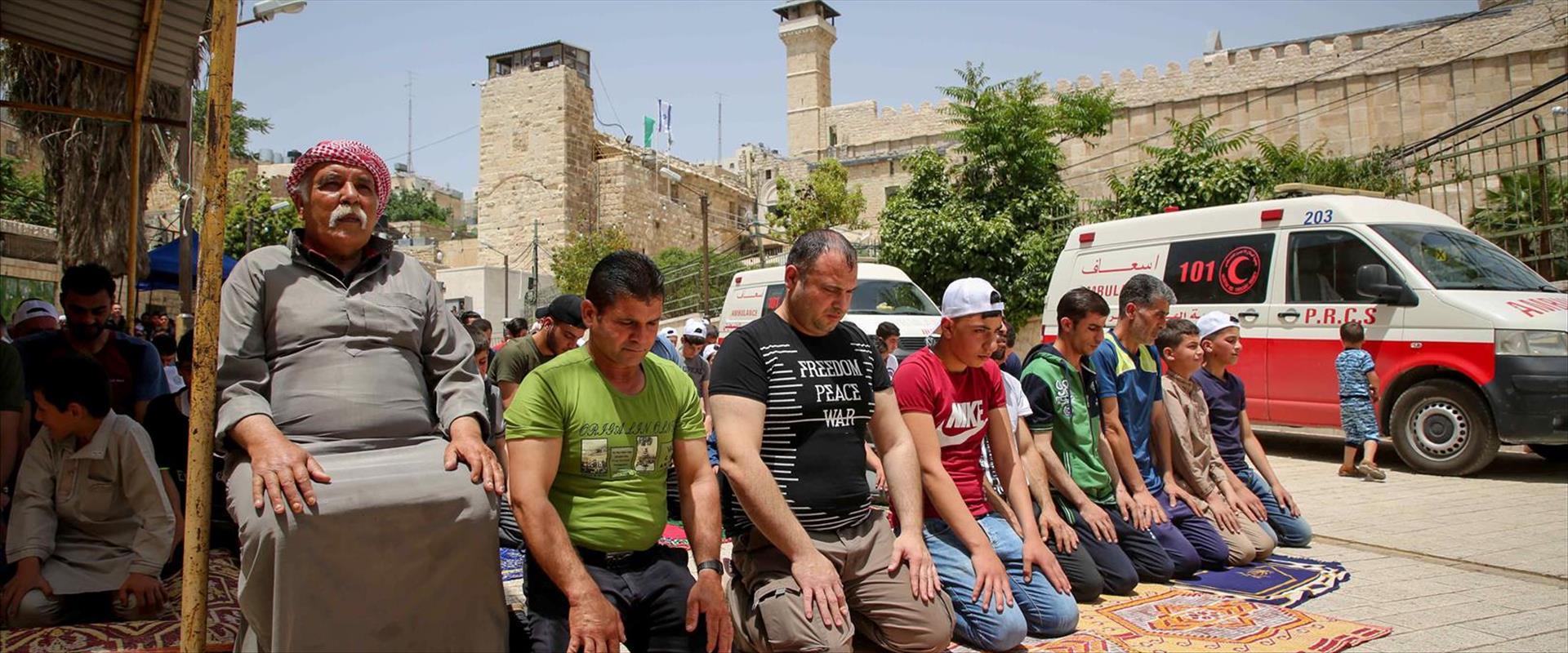 תפילה ברמדאן בחברון