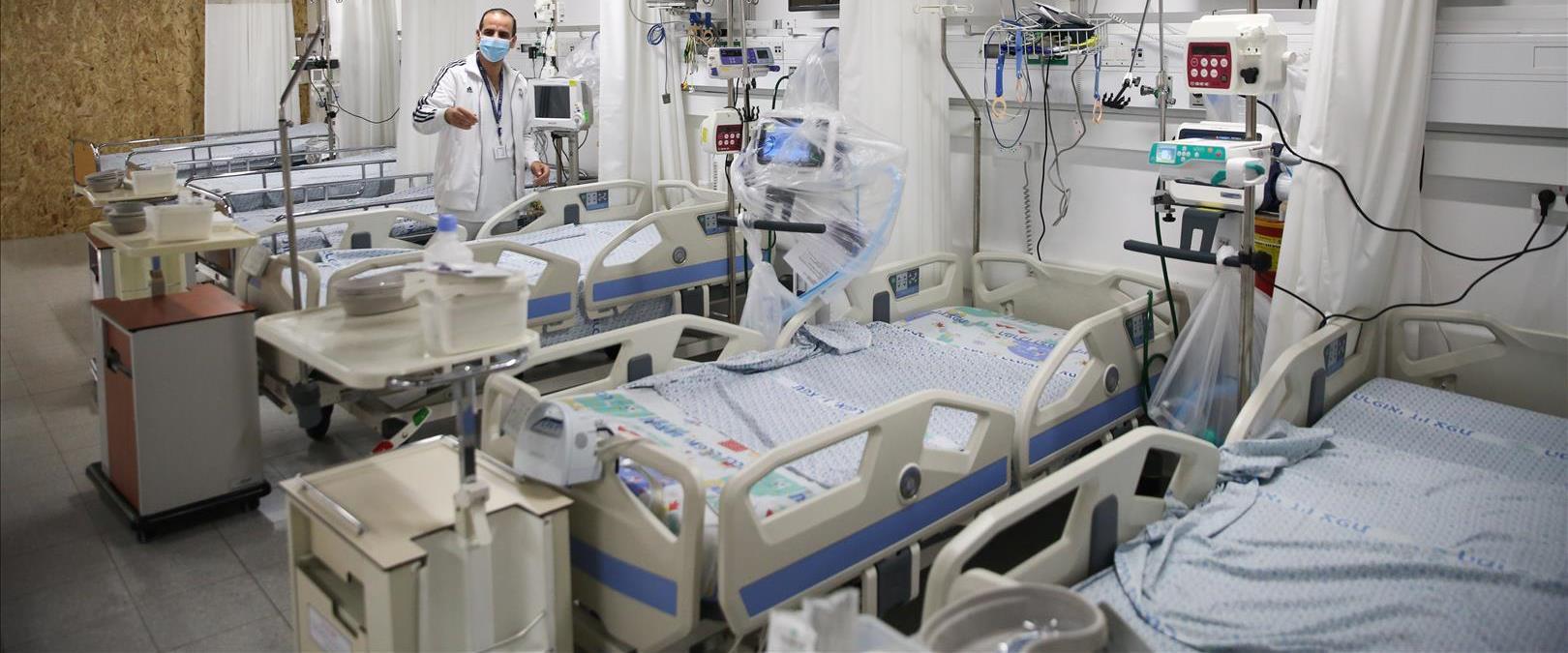 בית החולים זיו בצפת, קורונה