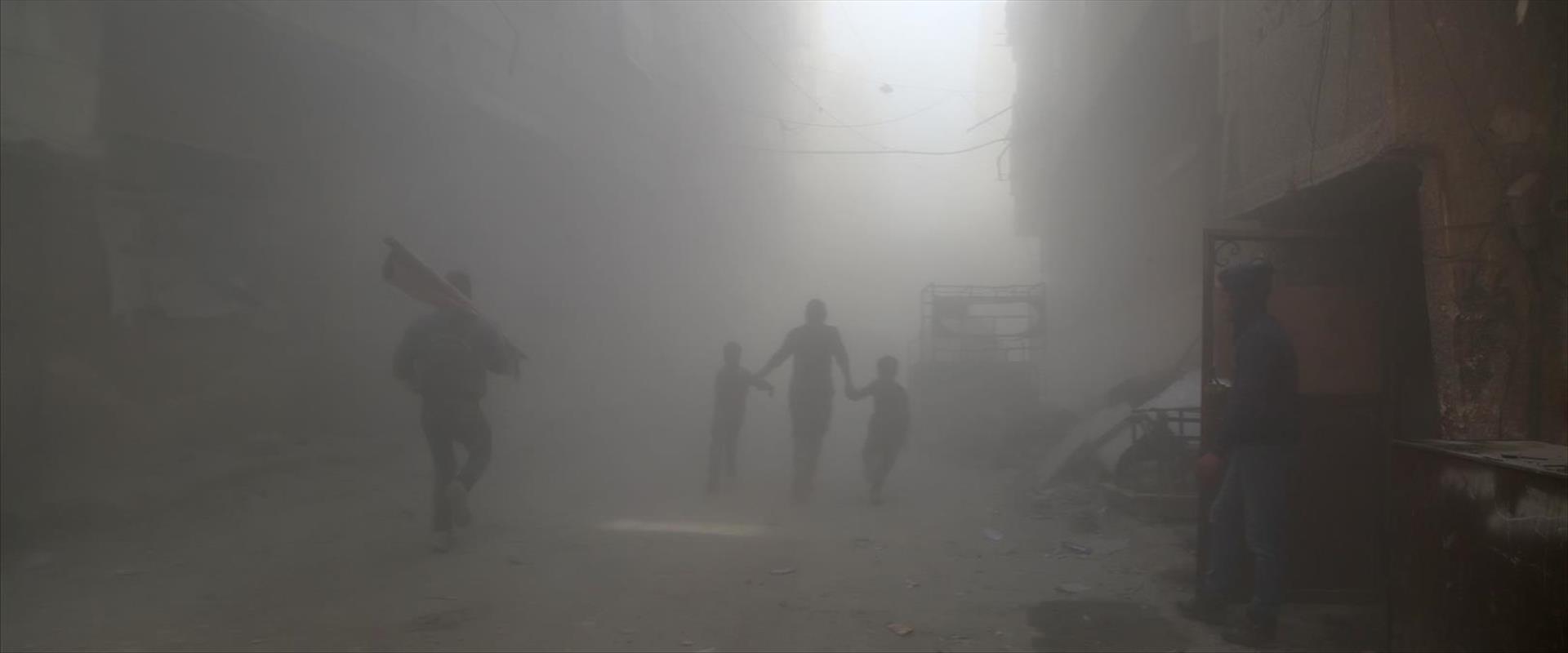 תקיפה בפרברי דמשק, מארס 2017