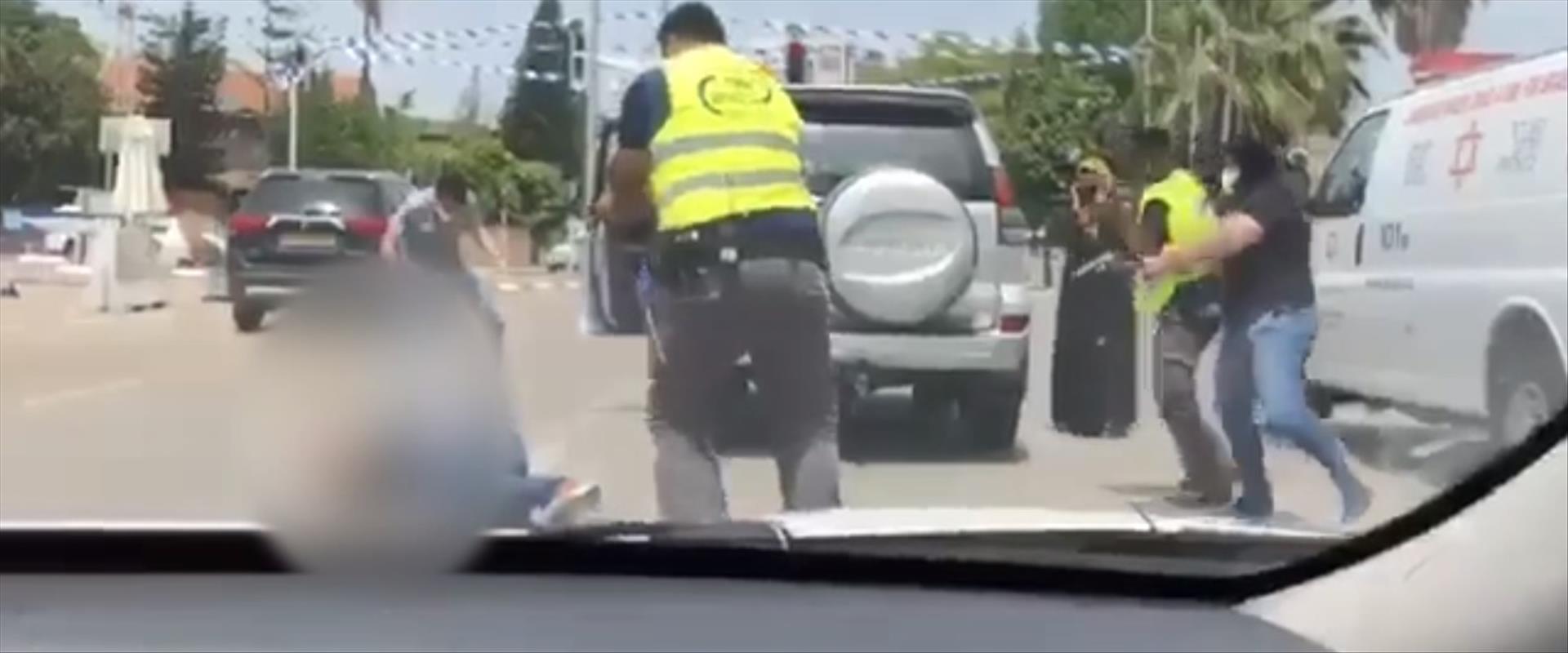 מתוך תיעוד הירי