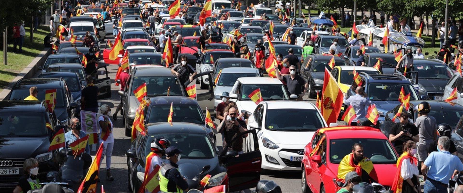 המחאות במדריד