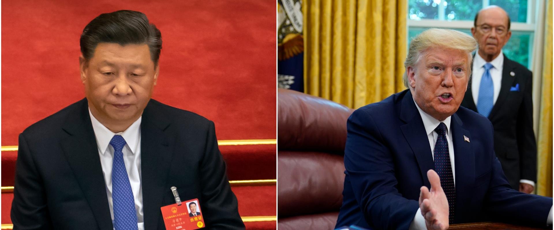 """נשיאי ארה""""ב וסין"""