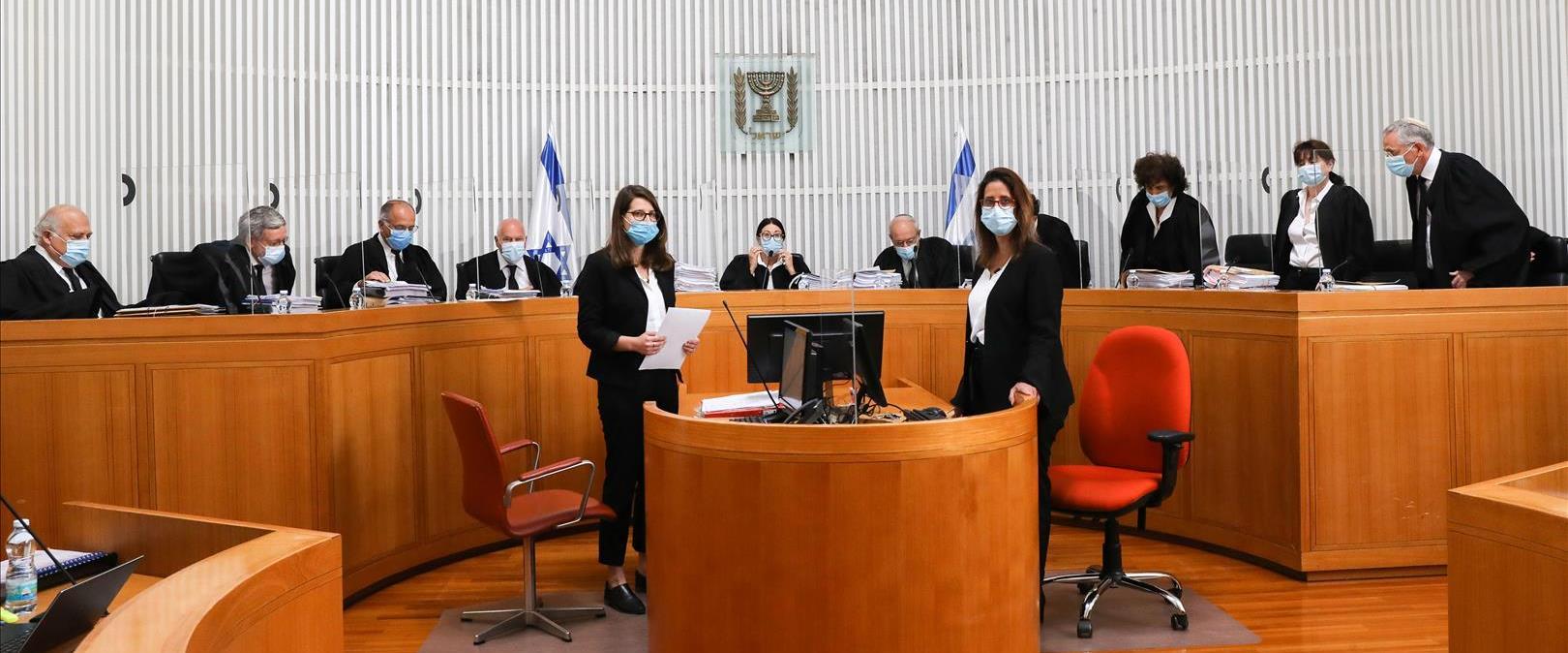 """הדיון בבג""""ץ בעתירות נגד כהונת רה""""מ, 03.05.20"""