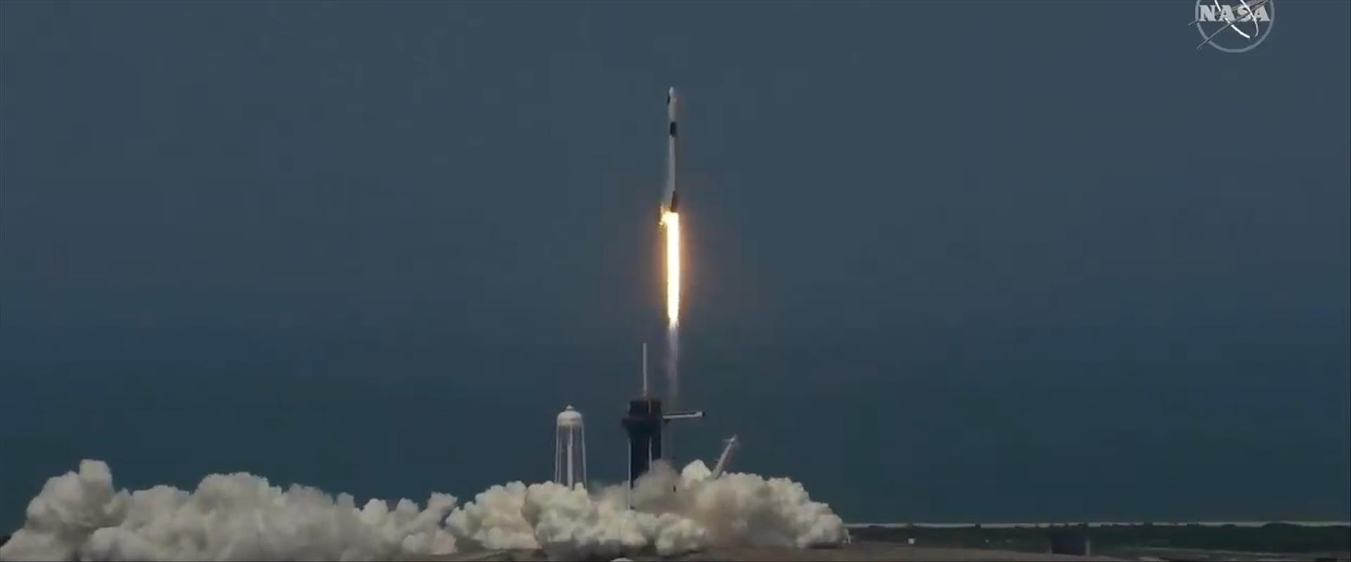 """שיגור החללית של ספייס אקס ונאס""""א"""