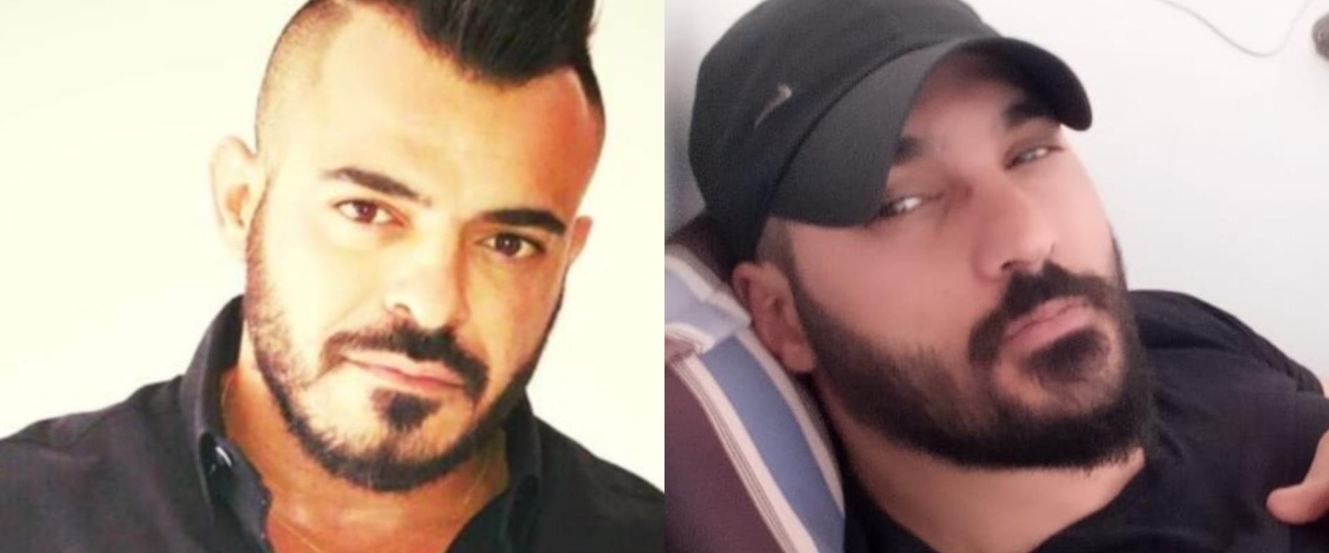 הנרצחים בדלית אל כרמל: עופר אבו סעדה (מימין) וקרלו