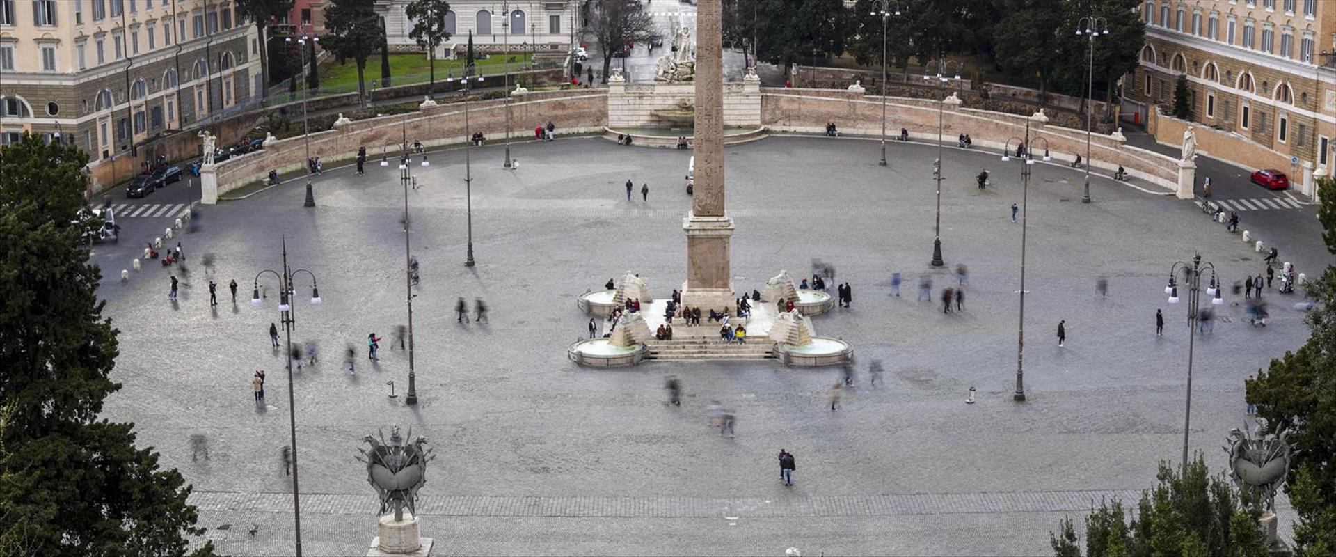 כיכר פיאצה דל פופולו ברומא