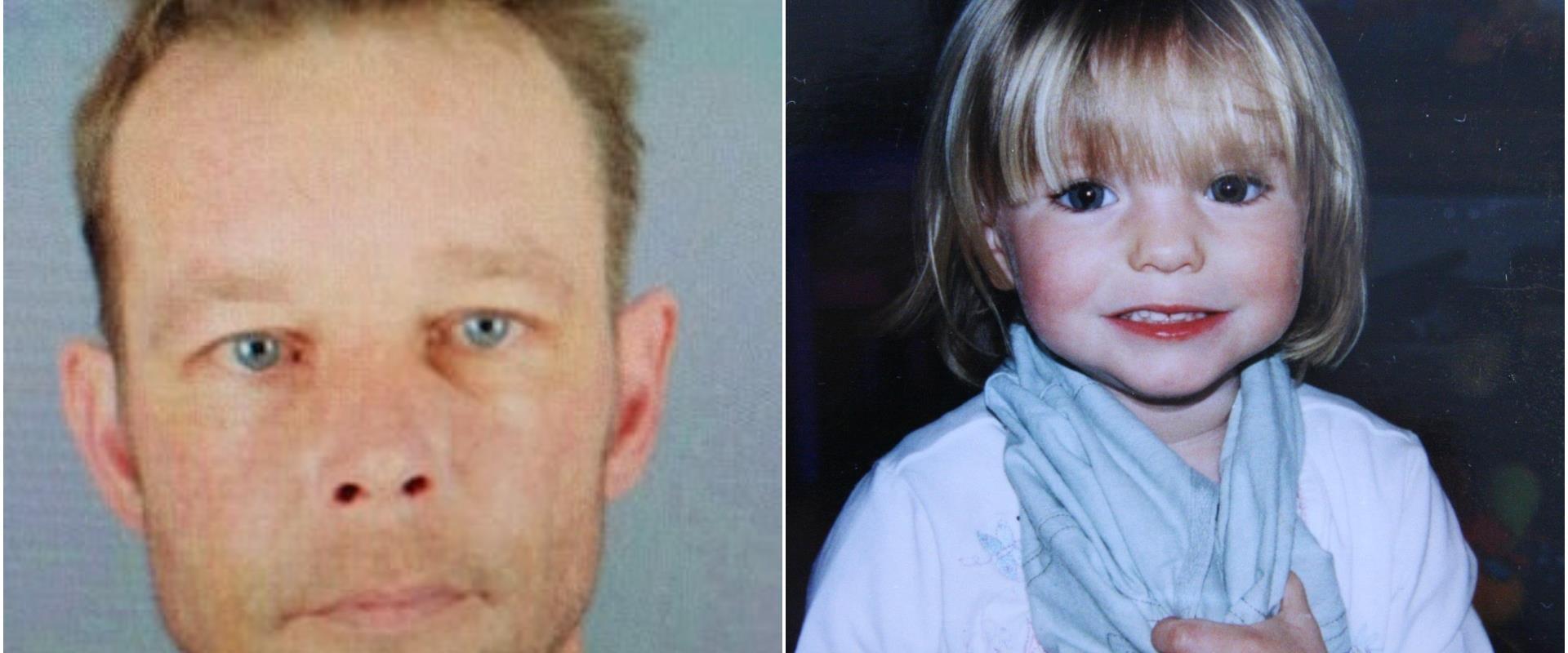 מדלן מקאן והחשוד החטיפתה ורציחתה כריסטיאן ברוקנר