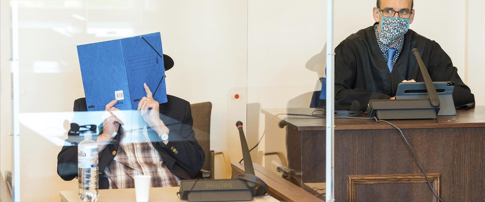 ברונו דיי בבית המשפט בשבוע שעבר