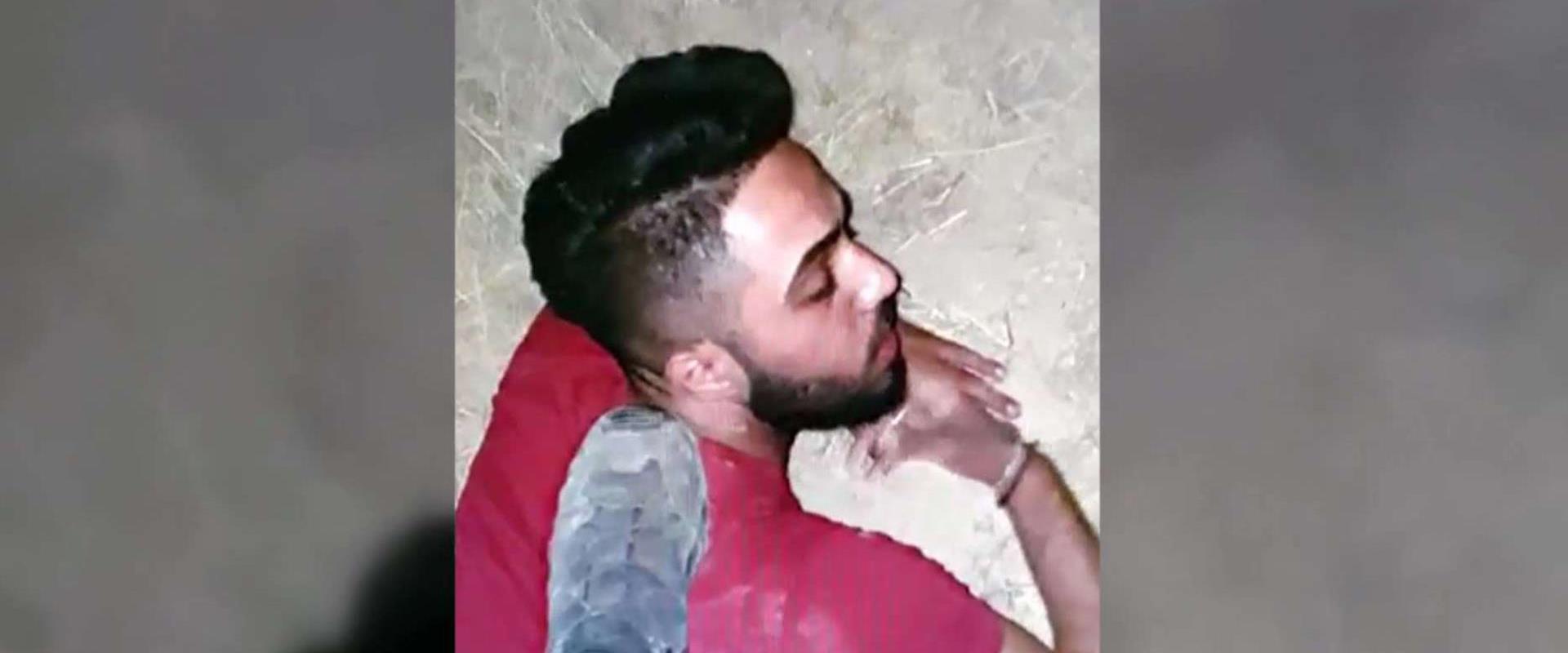 תיעוד תקיפת מונתסר אל-פאחורי על ידי שוטרים