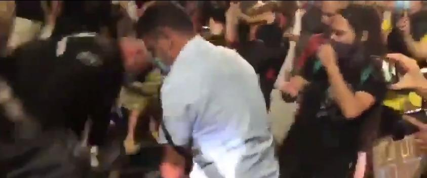 """סנ""""צ ניסו גואטה משתמש באלימות כלפי מפגינים"""