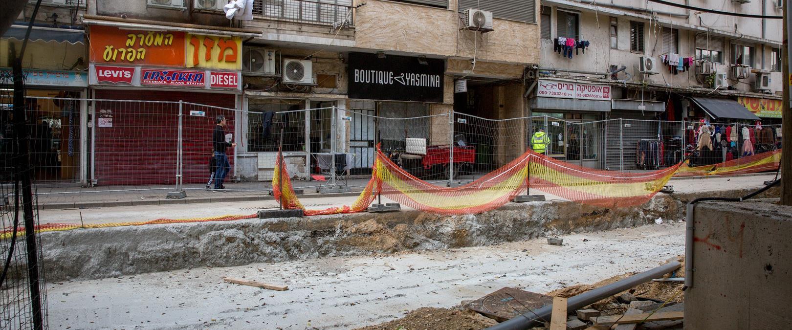 שדרות ירושלים, פברואר 2020